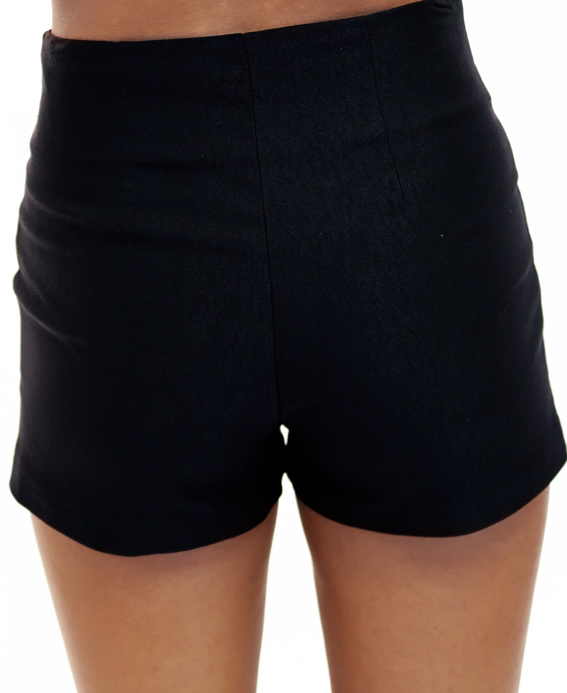 High Waisted Shorts With front slits