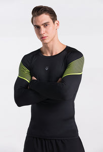 T-shirt compression - 6 coloris - Fitness Homme & Running