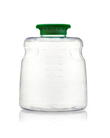 Foxx Life Sciences 111-6001-RLS Media Bottle, 1000 ml, PETG, Non-Sterile Case of 24 (CS24) - Government Lab Enterprises