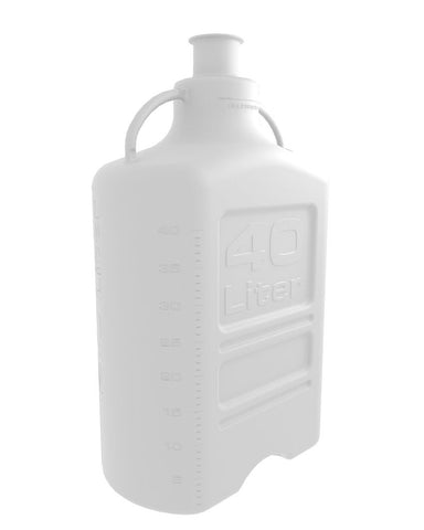 "Foxx Life Sciences 155-5131-OEM Carboy, 40L, Polypropylene, 3"" Sanitary Neck - Government Lab Enterprises"