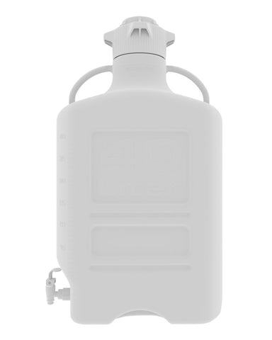 Foxx Life Sciences 152-5221-OEM Carboy, 40L, HDPE, 120mm Cap, w Spigot - Government Lab Enterprises