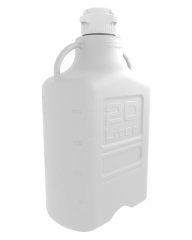 Foxx Life Sciences 152-3111-OEM Carboy, 20L, HDPE, 83B Cap - Government Lab Enterprises