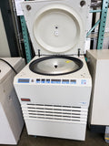 Sorvall RC-4 refrigerated floor model centrifuge with LH-4000 rotor - Government Lab Enterprises
