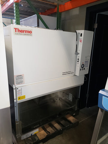 Thermo Forma Model 1284 4 foot Type A2 biological safety cabinet with stand - Government Lab Enterprises