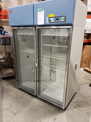 Thermo Scientific Revco REL5004A22 Chromatography glass 2-door laboratory refrigerator - Government Lab Enterprises