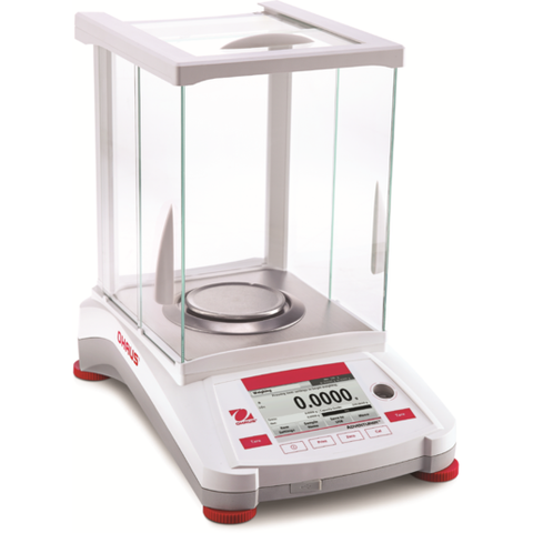 Ohaus AX224 or AX224/E Adventurer Analytical Balance (220g x 0.1mg) - Government Lab Enterprises