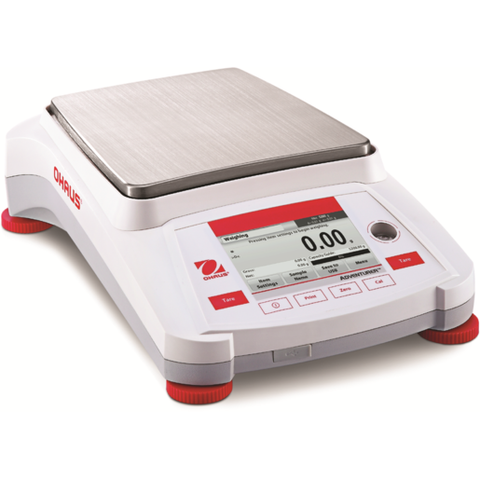 Ohaus AX8201, AX8201/E or AX8201N/E Adventurer Precision Balance (8200g x 0.1g) - Government Lab Enterprises