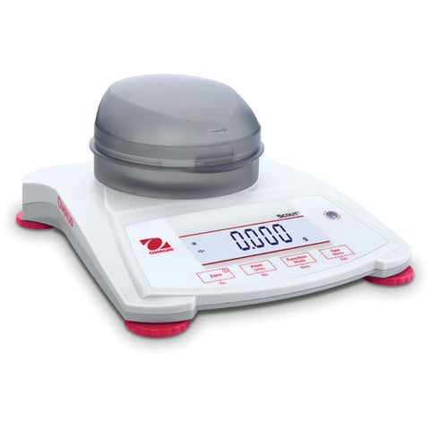 Ohaus SPX123 AM Scout SPX Balance (120g x 0.001g) - Government Lab Enterprises