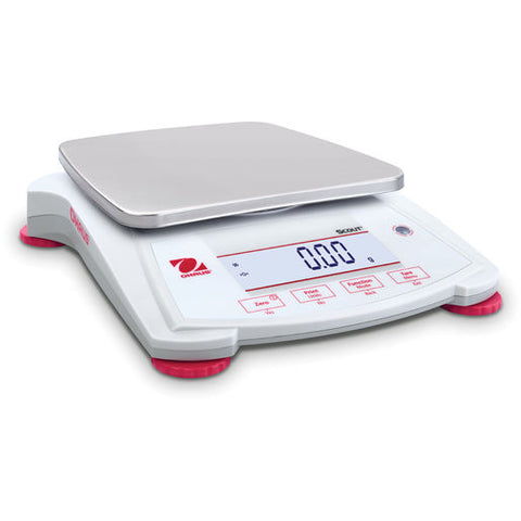 Ohaus SPX2202 AM Scout SPX Balance (2200g x 0.01g) - Government Lab Enterprises