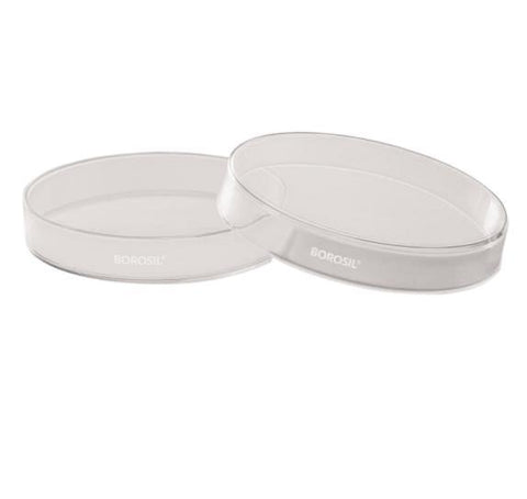 Foxx Life Sciences Borosil 3160065 Glass Petri Dishes with Covers, 50mm x 17mm (OD x H), CS/100 - Government Lab Enterprises