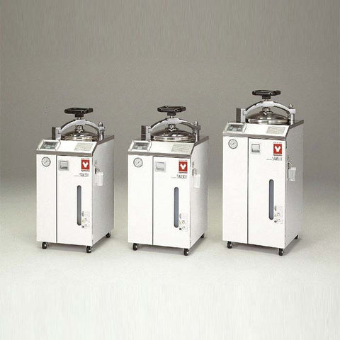 Yamato SM-301 Steam Sterilizer with Dryer 32L 115V - Government Lab Enterprises