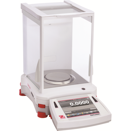 Ohaus EX224, EX224/AD, EX224N or EX224N/AD Explorer Analytical Balance (220g x 0.1mg) - Government Lab Enterprises