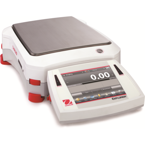 Ohaus EX10201 or EX10201N Explorer Precision Balance (10200g x 0.1g) - Government Lab Enterprises