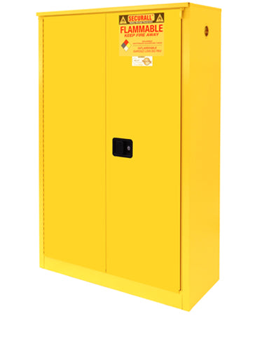 Securall A245 45 gallon Flammable Storage Cabinet with Sliding Doors - Government Lab Enterprises