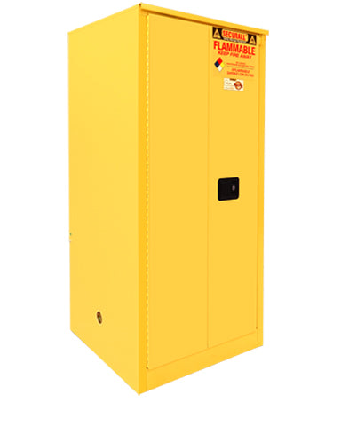 Securall A260 60 gallon Flammable Storage Cabinet with Sliding Doors - Government Lab Enterprises