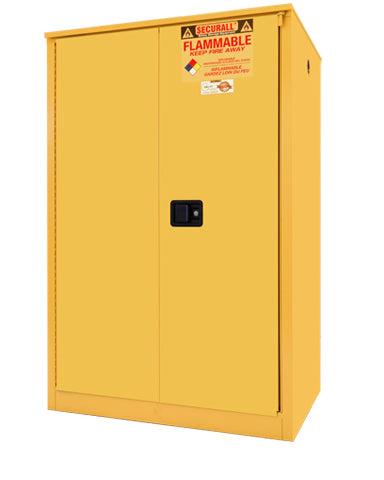 Securall A290 90 gallon Flammable Storage Cabinet with Sliding Doors - Government Lab Enterprises