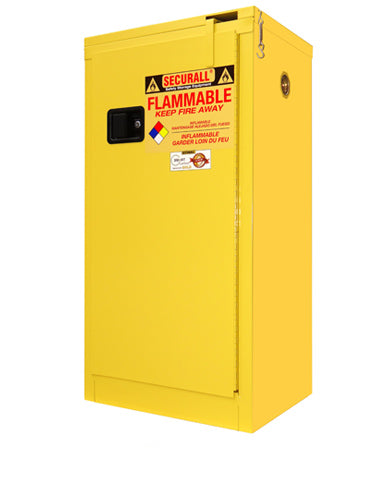 Securall 16 Gallon Flammable Storage Cabinet (A310) - Government Lab Enterprises