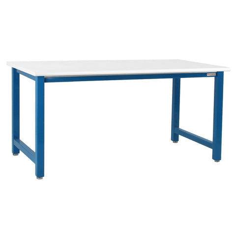 "Benchpro KF3048 Kennedy Series Formica Round Front Edge Top Work Bench (48"" x 30"" x 36"") - Government Lab Enterprises"