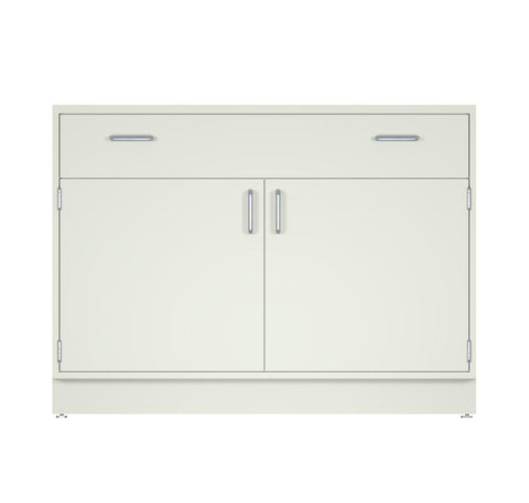 "CLP 48"" wide Standing Height Metal Base Cabinet with 1 drawer/2 doors (22"" Deep x 35"" Tall)"
