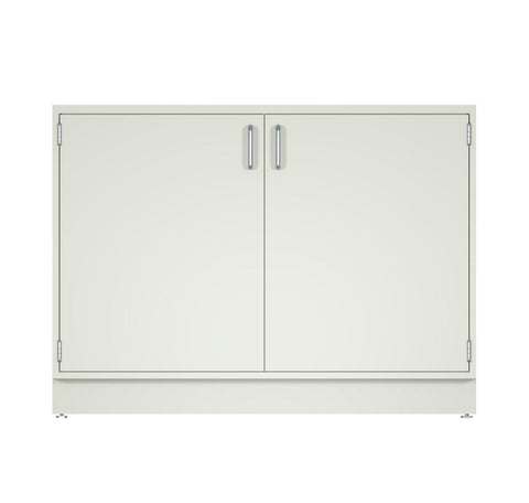 "CLP 48"" wide Standing Height Metal Base Cabinet with 2 doors (22"" Deep x 35"" Tall)"