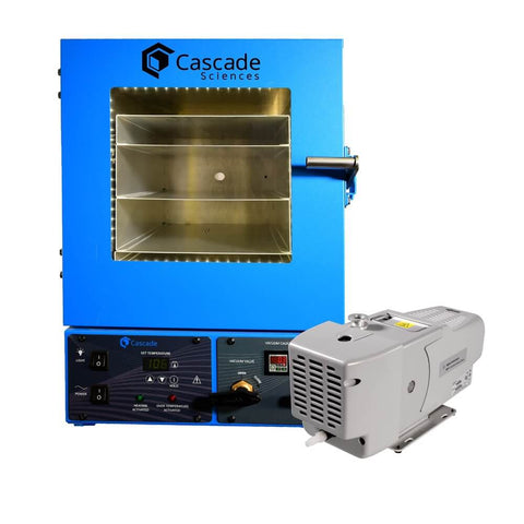 Cascade Sciences CVO-2 Standard Vacuum Oven and Pump System 2 cu ft. - Government Lab Enterprises