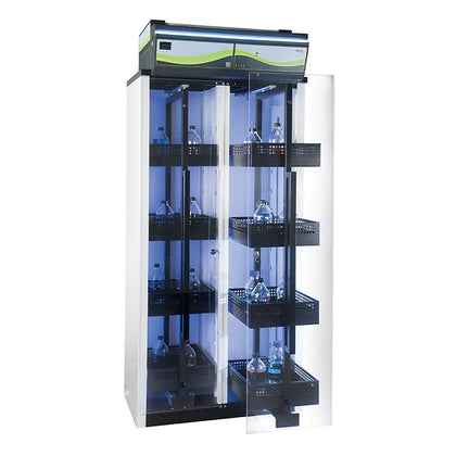 Erlab Captair 834 Smart V2 Chemical Storage Cabinet with Pullout Doors and Trays - Government Lab Enterprises