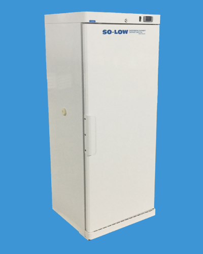 So-Low DHK4-10SD Economy Laboratory Refrigerator with Solid Door 10 cu. ft. 115V