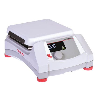OHAUS e-G51HP07C Guardian 5000 Hotplate with 7 in. x 7 in. Ceramic Plate - Government Lab Enterprises