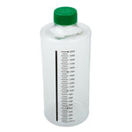 CELLTREAT 229385 850cm2 Roller Bottle, Tissue Culture Treated, Printed Graduations, Vented Cap, Sterile 12PK - Government Lab Enterprises