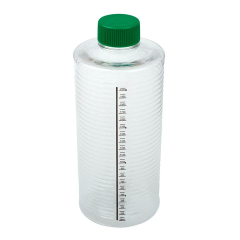 CELLTREAT 229386 1900cm2 ESRB Roller Bottle, Tissue Culture Treated, Printed Graduations, Non-Vented Cap, Sterile , 12PK - Government Lab Enterprises