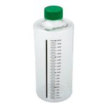 CELLTREAT 229384 850cm2 Roller Bottle, Tissue Culture Treated, Printed Graduations, Non-Vented Cap, Sterile 24PK - Government Lab Enterprises