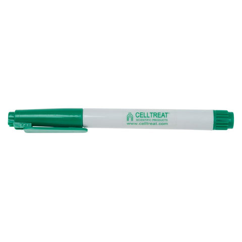 CELLTREAT Green Tube Marker, Fast Drying, 229405, 5PK - Government Lab Enterprises