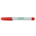 CELLTREAT 229408 Red Tube Marker, Fast Drying, 5PK - Government Lab Enterprises