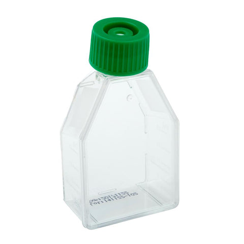 CELLTREAT 229500 25mL Suspension Culture Flask - Vent Cap, Sterile, 25PK - Government Lab Enterprises
