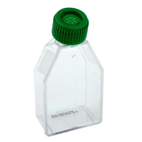 CELLTREAT 229510 50mL Suspension Culture Flask - Vent Cap, Sterile, 18PK - Government Lab Enterprises