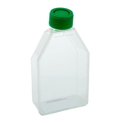 CELLTREAT 229340 75cm2 Tissue Culture Flask - Plug Seal Cap, Sterile, 200PK - Government Lab Enterprises