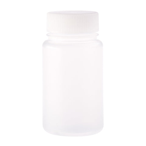 CELLTREAT 229795 125mL Wide Mouth Bottle, Round, PP, Non-sterile, 48PK - Government Lab Enterprises