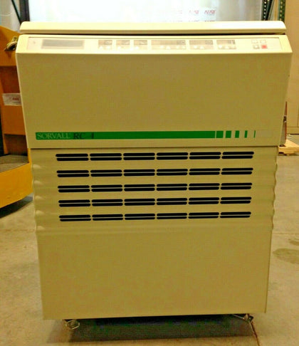 Kendro Sorvall RC-4 refrigerated floor model centrifuge (Cat # 75004481) with LH4000 rotor and 4 double spin buckets (75006478)