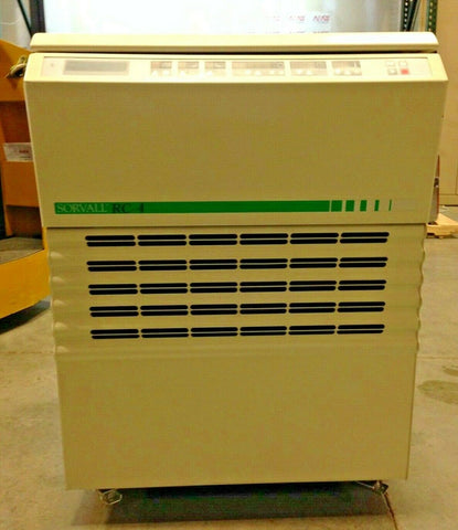 Kendro Sorvall RC-4 refrigerated floor model centrifuge (Cat # 75004481) with rotor and 4 double spin buckets (75006478)