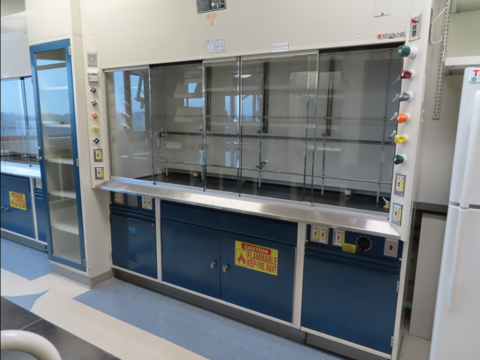 Kewaunee Supreme Air 8 foot chemical fume hood package
