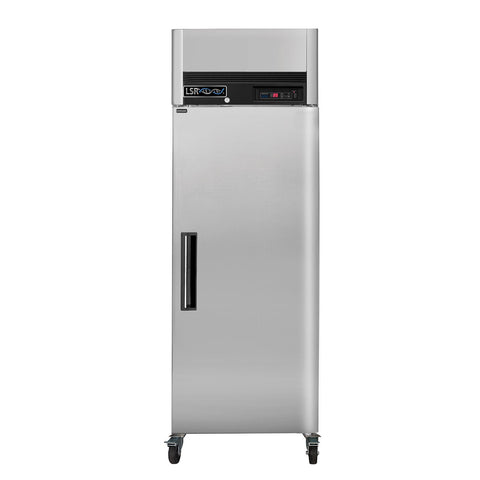 LSR Model LSRP-F-23 Premium Single Door 23 cu. ft. Stainless Steel -23C Freezer