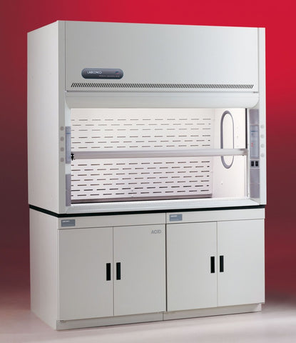 Labconco Protector XStream 8 foot laboratory benchtop fume hood 110-115V 50/60Hz - Government Lab Enterprises