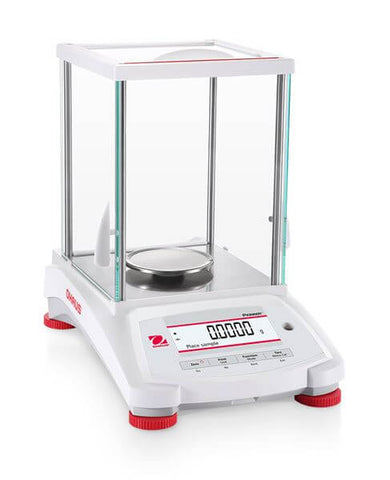Ohaus PX124/E AM or PX124 AM Pioneer Analytical Balance (120g x 0.0001g) - Government Lab Enterprises