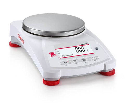 Ohaus PX1602/E AM or PX1602 AM Pioneer Analytical Balance (1600g x 0.01g) - Government Lab Enterprises