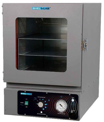 Shel Lab Model SVAC2E Vacuum Oven; MAX 210C; 1.7 cu. ft. - Government Lab Enterprises