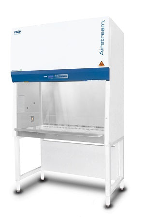 Esco Airstream Reliant Model AR2-4S9 Class II Type A2 4 foot Biosafety Cabinet with Ulpa Filter, UV Light, and Stand - Government Lab Enterprises