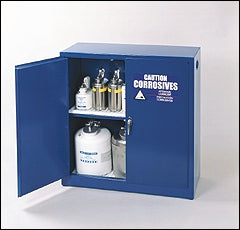 Eagle 30 gallon Acid/Base Storage Cabinet with Manual Close Doors - Government Lab Enterprises