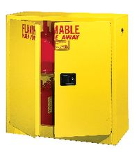Securall A131 30 gallon Flammable Storage Cabinet with Self-Latch 2-Standard Doors - Government Lab Enterprises