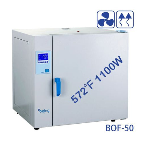 BEING BOF-50 Mechanical Convection Drying Oven, 2.1 Cuft, 59 Liters, 110V/60Hz - Government Lab Enterprises