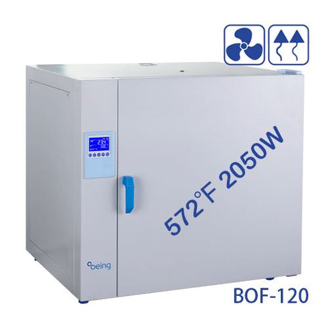 BEING BOF-120 Mechanical Convection Drying Oven, 4.1 Cuft, 121 Liters, 220V/60Hz - Government Lab Enterprises
